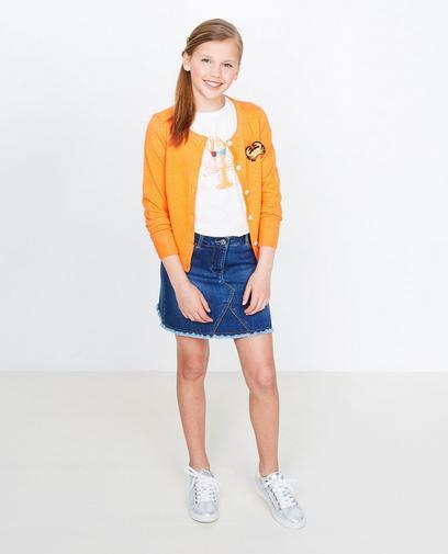 Fluo-oranje vest